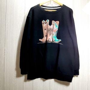 Crazy Train Sweater XL